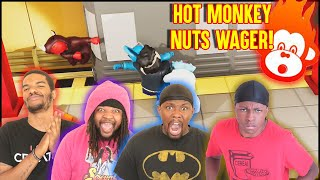 It Comes Down To A SUDDEN DEATH MATCH! LOSER Has To Eat HOT MONKEY NUTS! (Gang Beasts)