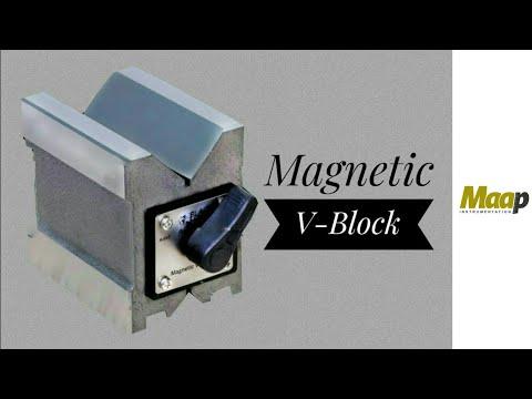 """2-3//4/"""" Single Magnetic B Block Dual Vee"""