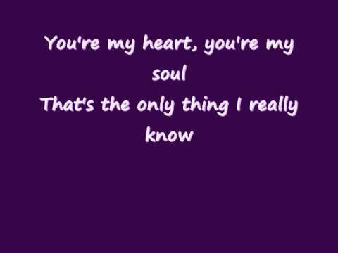 Modern Talking - You're my heart, you're my soul (Lyrics on screen) (видео)