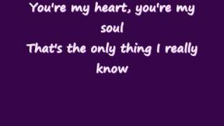 Modern Talking - You're my heart, you're my soul (Lyrics on screen)