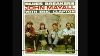 Eric Clapton   John Mayall Bluesbreakers   All Your Love cover
