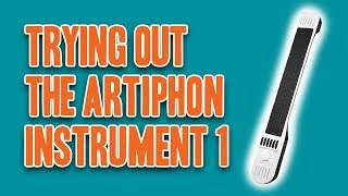 Gear Thursday: Trying Out The Artiphon Instrument 1 | Marty Schwartz