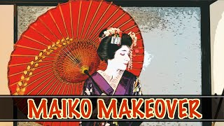 Maiko Makeover By A Geisha In Kyoto, Japan! // Stuarts Bucket List
