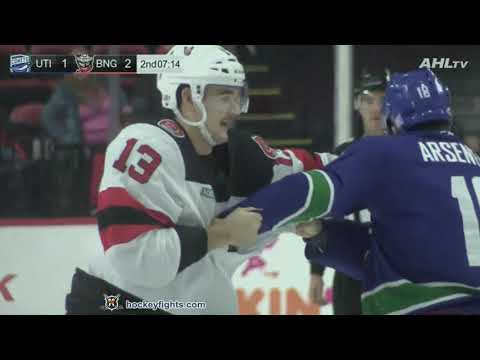 Brandon Baddock vs. Vincent Arseneau