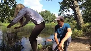 Красивые рыбалки на аву для девушек без лица