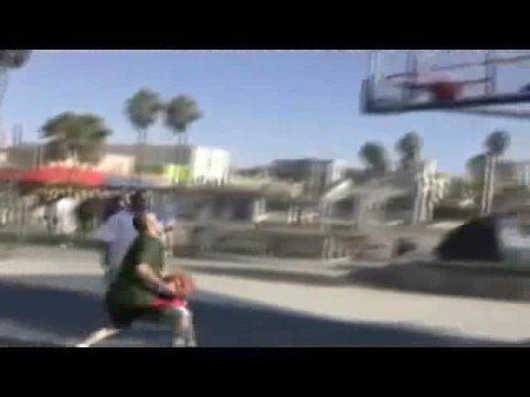 NBA correspondent Elie Seckbach reports from Venice Beach
