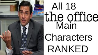 All 18 The Office Main Characters Ranked