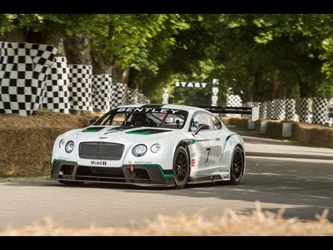 Bentley Debuts its new Continental GT3 Race Car