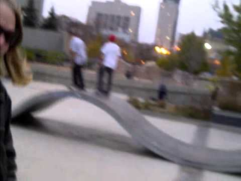 the Forks and the Skatepark