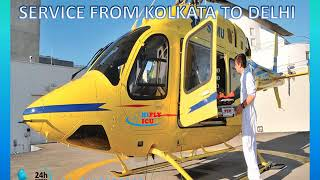 Book Low-Cost Air Ambulance Service from Kolkata to Delhi by Hifly ICU