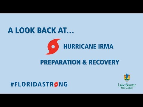 Looking Back at Hurricane Irma - Lake-Sumter State College