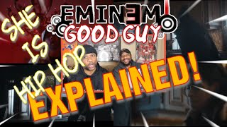 DADS REACT | GOOD GUY x EMINEM FT JESSIE REYEZ | THE WHOLE SONG WAS A DOUBLE !! | GOOD GUY EXPLAINED