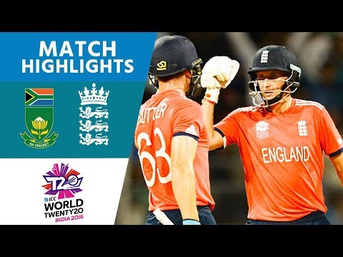 England Chase Down 230!   South Africa vs England   ICC Men's #WT20 2016 - Highlights