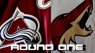 Round One Preview: Colorado Avalanche Vs Arizona Coyotes