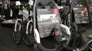 Видео: Детские велокресла