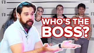 Private Investigators Guesses Who's the Boss Out Of A Lineup