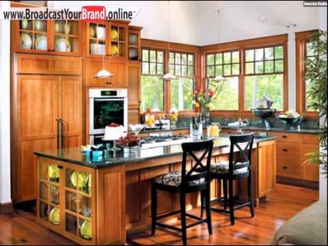 Wohnideen Küche Klassisch Holz Jüchenmöbel Granit Graue Arbeitsplatte