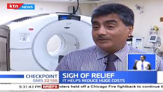 Aga Khan Hospital installs equipment that is set to reduce the cost of cancer treatment