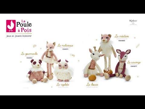 Les Kalines - Peluches pour enfants - Kaloo - lapouleapois.fr