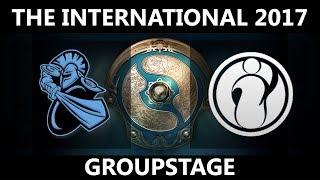 NewBee vs IG GAME 1, The International 2017, IG vs NewBee