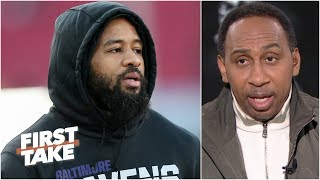 Stephen A. 'hates' Earl Thomas' Super Bowl guarantee for the Ravens | First Take