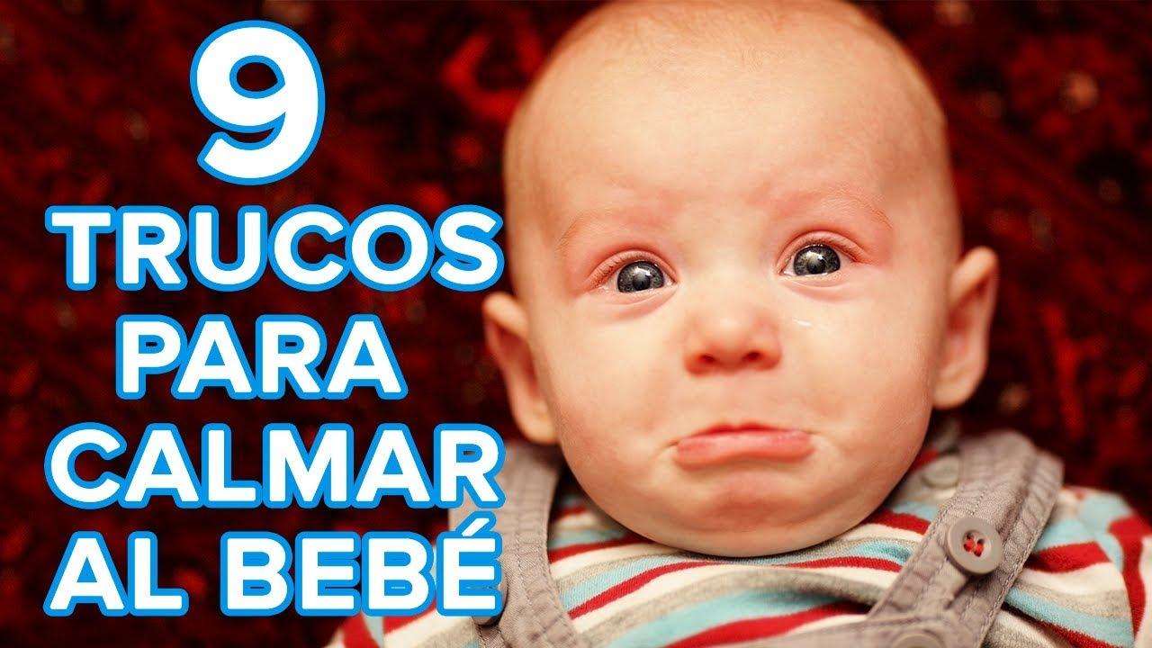 9 estrategias infalibles para calmar a un bebé que llora mucho ????