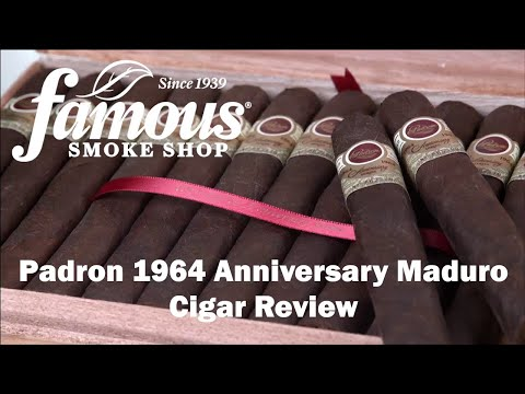 Padron 1964 Anniversary Maduro video