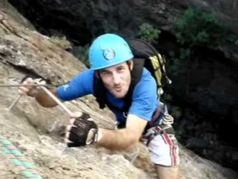 Der Klettersteig von Canal: Der Klettersteig von Benalauría
