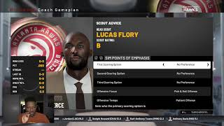 5 MINUTE FANTASY DRAFT REBUILDING CHALLENGE IN NBA 2K19
