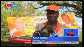 KTN Leo: Kinara wa CORD Raila apongeza Jaji Maraga kwa uteuzi wake, Septemba 22 2016