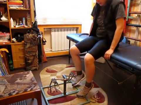 Лечение суставов ног с помощью мини- велотренажера / mini-exercise bike