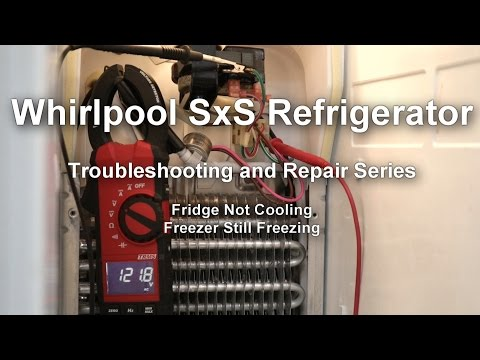 Whirlpool Side by Side Refrigerator Not Cooling - Troubleshooting and Repair Series