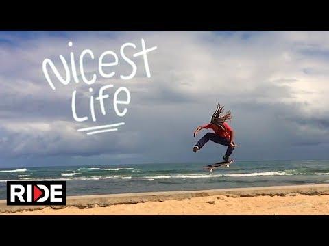 The Nicest Life - Skate and Explore Salvador Bahia with Sergio Santoro - Episode 3
