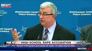 SHOCKING: Illegal Immigrant Accused Of Raping 14-Year-Old Girl In Maryland School FNN