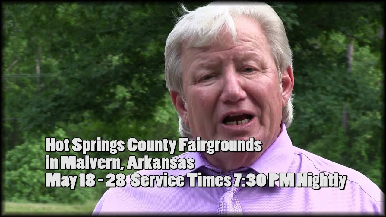 Harvey Perdue Tent Ministry TV Commercial