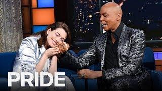 Anne Hathaway Finally Meets RuPaul | ET CANADA PRIDE