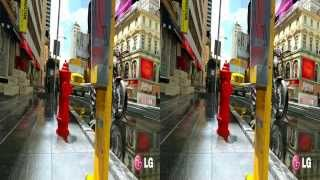 LG 3D Demo - Cinema 3D World II - 3D Side by Side (SBS)