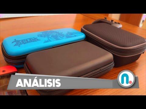 Comparativa #1: Fundas de viaje de Nintendo Switch. ¡Protege tu consola!
