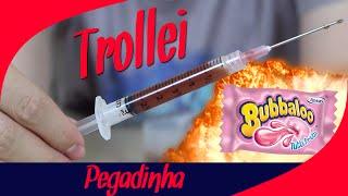 PEGADINHA - TROCANDO RECHEIO DO CHICLETE   [ REMAKE ]