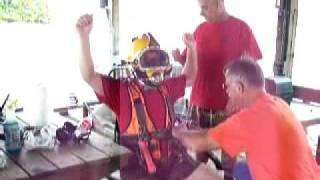 Kirby Morgan Dive Helmet Training