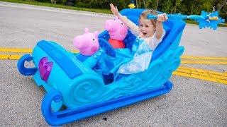 Сказка о принцессе Эльза Холодное Сердце Frozen Story by princes Elsa