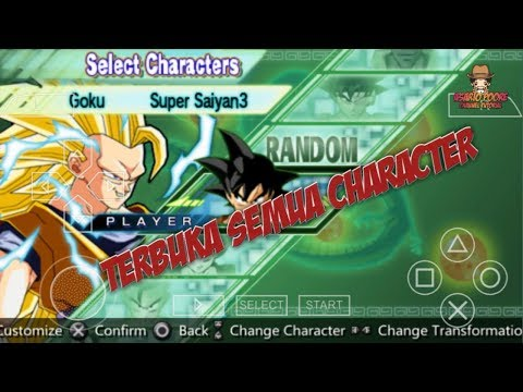 Dragon Ball Z Shin Budokai 2 Unlock All characters PSP