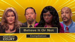 Believe It Or Not: Shocking, Sad Cases On Paternity Court (Compilation)   Paternity Court