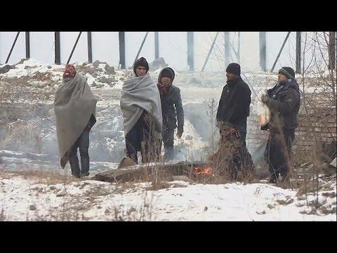 Ευρώπη: Στο έλεος του χιονιά χιλιάδες μετανάστες