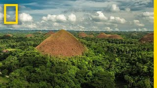 Soar Over the Chocolate Hills in the Philippines | National Geographic thumbnail