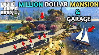 GTA 5 : MY MILLION DOLLAR LUXURY MANSION & GARAGE || BB GAMING