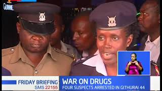 Heroin and Bhang seized during Police raid, 4 suspects arrested in Githurai 44