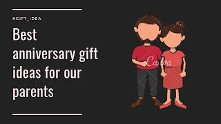 Best anniversary gift ideas for your parents//I for Idea.