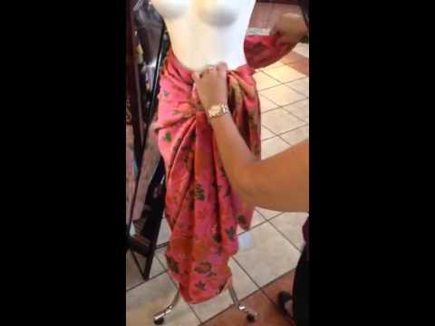 Video cara membuat serutan kain batik 2