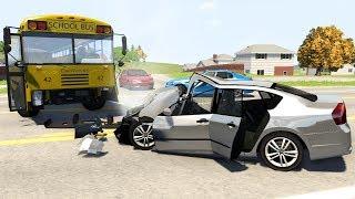 Realistic Fatal Crashes [1] - BeamNG.Drive •Notsofancygames